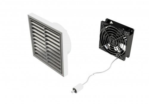 Zip Auxiliary Ventilation Fan Kit