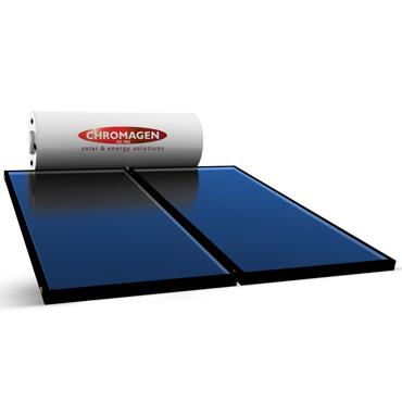Chromagen Roofline 300l 2 Panel 26l Gas Booster