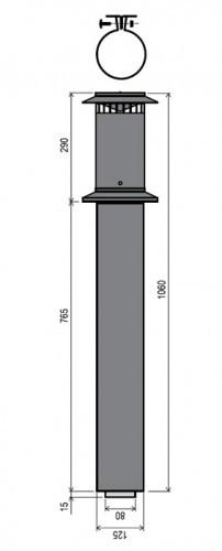 Rinnai Vertical Flue Terminal