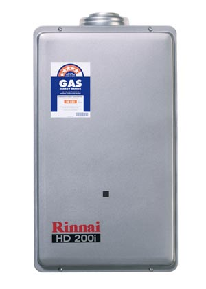 Rinnai HD200IN75 Heavy Duty 200i Continuous Flow Internal 75 Degree