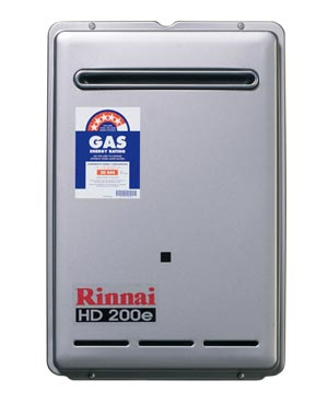 Rinnai HD200N40 Heavy Duty 200E Continuous Flow 40 Degree (Made To Order)
