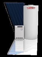 Chromagen Splitline 200l 1 Panel 20l gas booster